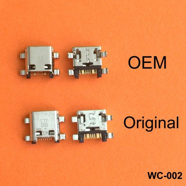 100 ピース/ロットマイクロミニusb充電ポートジャックプラグソケットコネクタため首相G530 G530H G530F