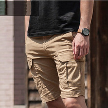 Men's Summer For Training Tactical Sports Camping Hunting Shorts multi-Pocket Water Repellent oil Army Travel Fishing Clothes
