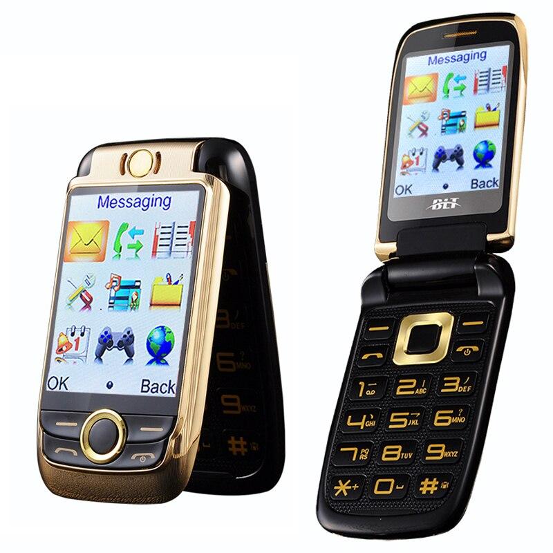 touch screen flip phone clamshell folder big button