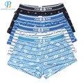 Pink Heroes 4pcs/lot Men Underwear Boxers Sexy Breathable Cotton Printed Underwear Men Boxer Pants Men underwear shorts at home
