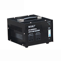 ST 2000VA Step up & Down Transformer Copper single phase Vertical AC power Converter 110V to 220V or 220V to 110V 2000W Y