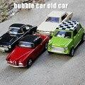 Colección Clásica Retro de Aleación Diecast Modelo de Coche 1/36 Escala Chevrolet serie Sonido se Retraen Coches Modelo Juguetes Para Niños Regalos