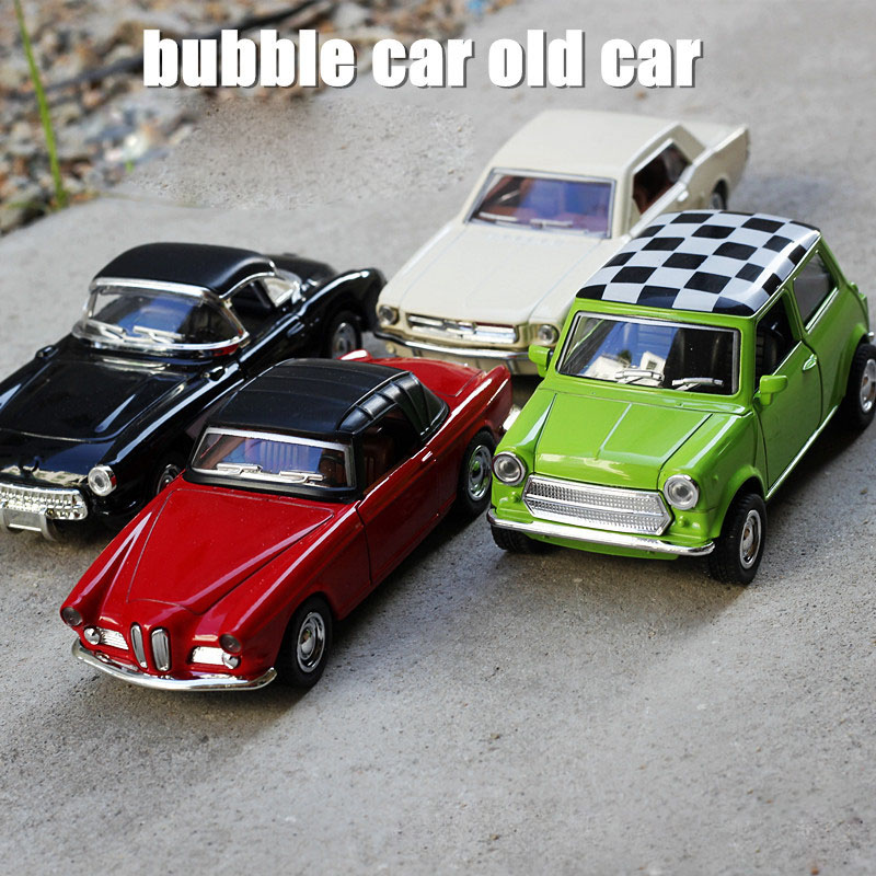 Collectible Alloy Diecast Classical Retro Car Model 1/36 Scale ...
