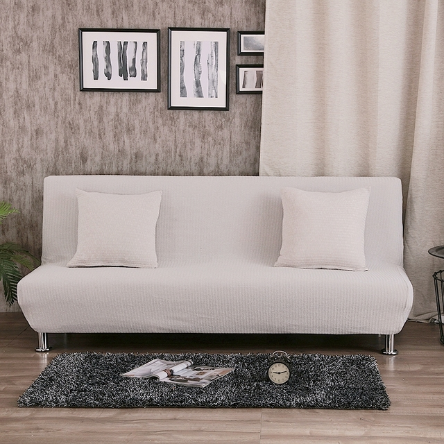 Removable grey sofa bed covers for living room universal stretch ...