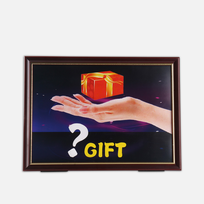 Cadre magique 4D cadeau conseil astuce cadeau de cadre tours de magie fermer accessoires de magie