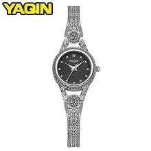 2018 brand quartz watch women watch lady casual wear luxury gold lady diamond waterproof fashion watch Reloj Mujer