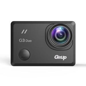 "Image 3 - 2018 yeni Gitup G3 Duo 2K 12MP 2160P spor eylem kamera 2.0 ""dokunmatik LCD ekran GYRO 170 derece isteğe bağlı GPS Slave kamera"