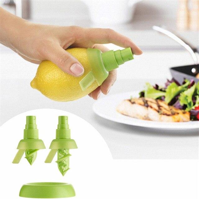 Gadget da cucina Spruzzatore di Limone Cucina Lemon Squeezer Succo di Frutta Fre