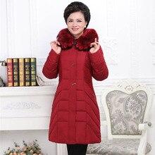 plus-size big size 8xl 9xl 6xl 7xl down jacket P8199 winter jacket women fur coats middle age plus size