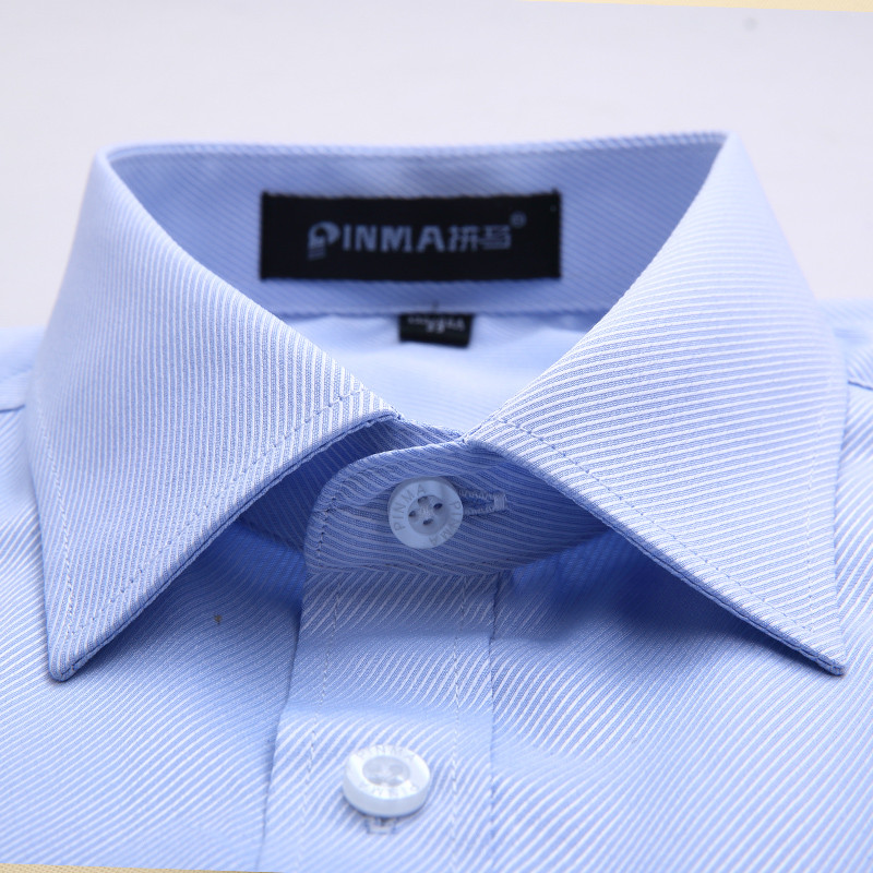 Men Business Short Sleeve Shirts 2016 Summer New Arrival Male Fashion Solid Casual Slim Fit Turn-down Collar Shirt XS-8XL M078