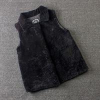 real fur jacket Merino Sheep Fur vest winter jacket women real sheep fur vest sheep fur coats women