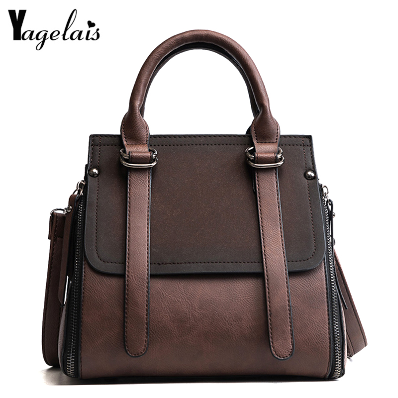 2018 New Women High Quality Leather Zipper Single Shoulder Crossbody Bags Soft Fashion Womens Handbags Small Totes Messenger Bag bailar fashion women shoulder handbags messenger bags button rivets totes high quality pu leather crossbody famous brand bag