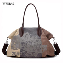 Brand Women Canvas Bags Large Pocket Casual Tote Bag Women Handbag Shoulder Bag Ladies Hand Bags Bolsas Feminina 2019 Sac A Main