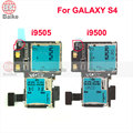 For Samsung GALAXY S4 SIV i9500 i9505 SIM Card Reader Connector Holder Slot Tray Memory Socket Flex Cable