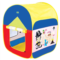High Quality Interesting Portable 110 90 86cm Kids Play Tent Play Game House Indoor Outdoor Toy