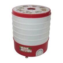 Сушилка электрическая Помощница СШ-006(Мощность 520 Вт, 5 ярусов, объем 20 л, подходит для сушки ягод и фруктов