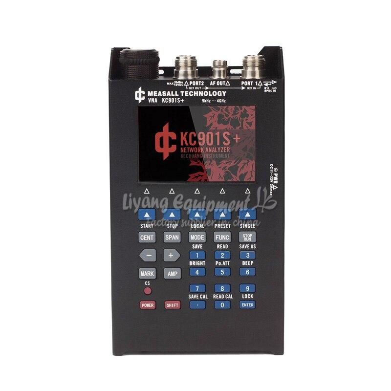 KC901S + Векторный анализатор цепей антенна rf спектра полевая мультиметр SWR стоячая волна тестирования 4G может соответствовать демо комплект