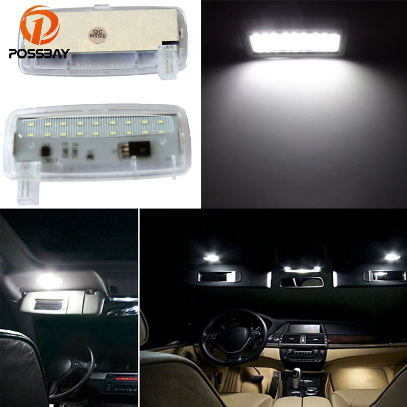 Signal Lamp Constructive Possbay Car Interior Light Vanity Front Mirror Lights For Bmw E88 E93 Rr3 12v Makeup Light White Lamp
