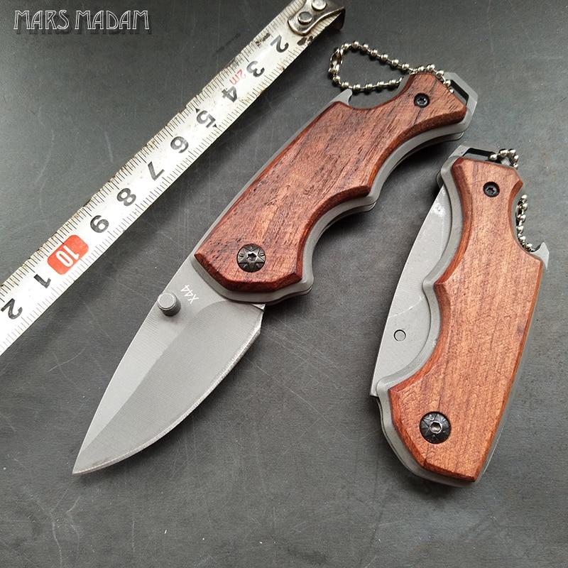 حمل و نقل رایگان QINGQING Titanium Survival Pocket Knife - ابزار دست