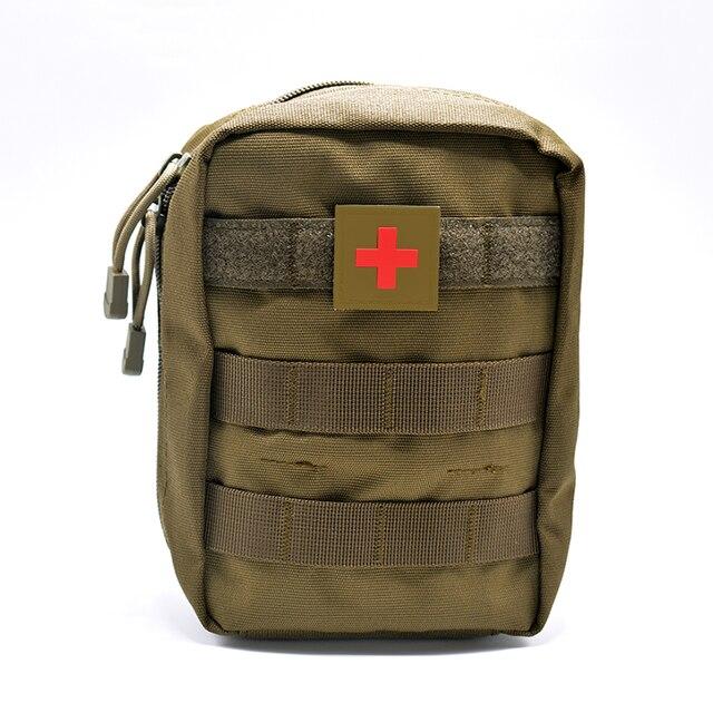 Mini Túi Du Lịch Đầu Tiên Bộ Dụng Cụ Hỗ Trợ Survie Di Động Sống Còn Chiến Thuật Khẩn Cấp Túi Sơ Cứu Quân Sự Bộ Y Tế Nhanh Chóng Gói