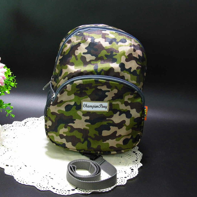Kids Anti-lost Camouflage Backpacks For Kindergarten Toddler Girls School Shoulder Bags Children Rucksacks Mochilas Escolares