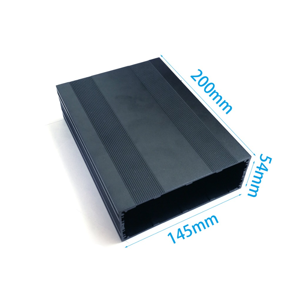 1PC Aluminum enclosure electrical box  extruded case Enclosure splitted PCB shell 145X54X200mm DIY NEW1PC Aluminum enclosure electrical box  extruded case Enclosure splitted PCB shell 145X54X200mm DIY NEW
