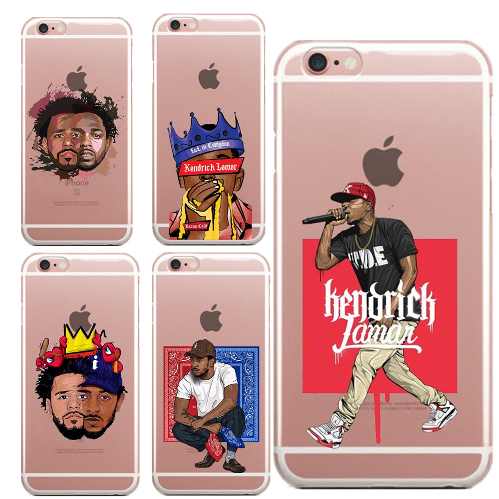 1bccb45a2fb9b US $1.82 39% OFF Kendrick Lamar & J Cole painting art Soft Silicone TPU  Phone Case For iPhone 5 5S SE 6 6S Plus 7 8 Plus X XR XS MAX 6.5 Cover-in  ...