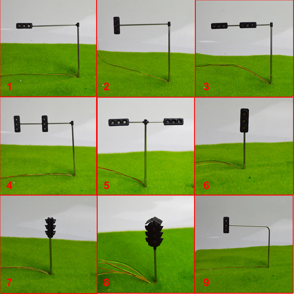 HO scale Traffic Lights Technology Production Invention Signals DIY Science Model Toys