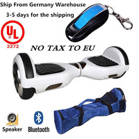 UL2272 Certified Hoverboard with Bluetooth Speaker and LED Smart Self Balancing Scooter Personal Adult Transporter