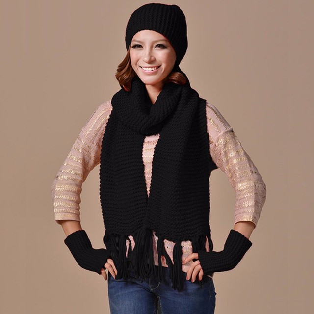 унисекс женская мужская вязаная шапка кепки теплая шапка шарф и