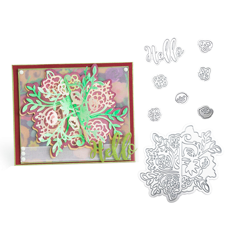 Julyarts 2019 New Arrived Flower Metal Die Cutting For Scrapbooking Troqueles De Corte