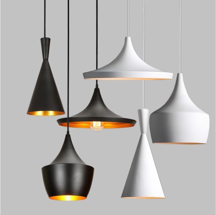 Metal Retro Vintage Pendant Lights E27 AC110-240V Hanging Lamp For Restaurant Kitchen Light aisle Dinging Room