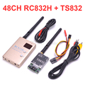 Беспроводной передатчик FPV 5 8 Ghz 600mW 48CH AV A/V  приемник TS832 RC832 RC832H Tx Rx  набор для профессиональных радиоуправляемых гоночных дронов