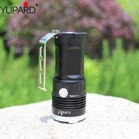 YUPARD 3* XM L2 LED Searchlight Spotlight Flashlight torch lamp light 18650 battery 5500 Lm T6+4* 2200mAh 18650 Battery+Charger