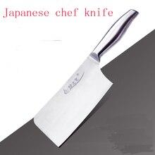Hochwertigem Edelstahl Chinesischen Hacken Messer Gefrorenes Fleisch Cleaver Küche Koch Kochen Messer Faca De Cozinha Küche Werkzeuge
