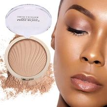 1PCS High Brightness Concealer Powder Face Makeup Pink Golden Shimmer Highlighter Powder Brighten Contouring Bronzing Powder isadora bronzing powder 45