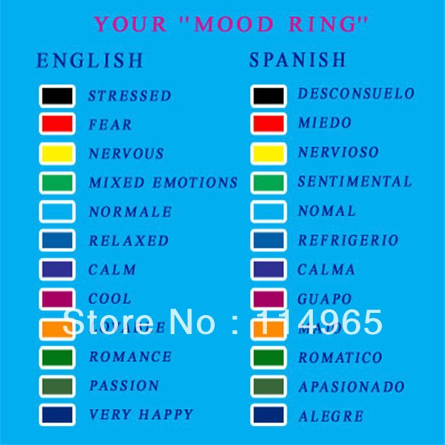 Mood Change Colors Design Decoration