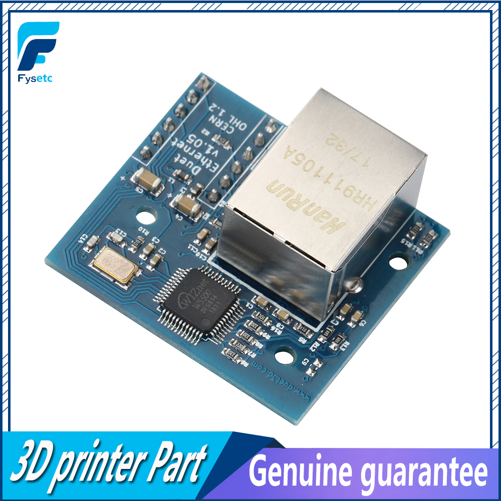 US $15 04 16% OFF|Cloned Duet Ethernet Module Ethernet Networking module  For Duet Ethernet Providing Ethernet Connectivity-in 3D Printer Parts &
