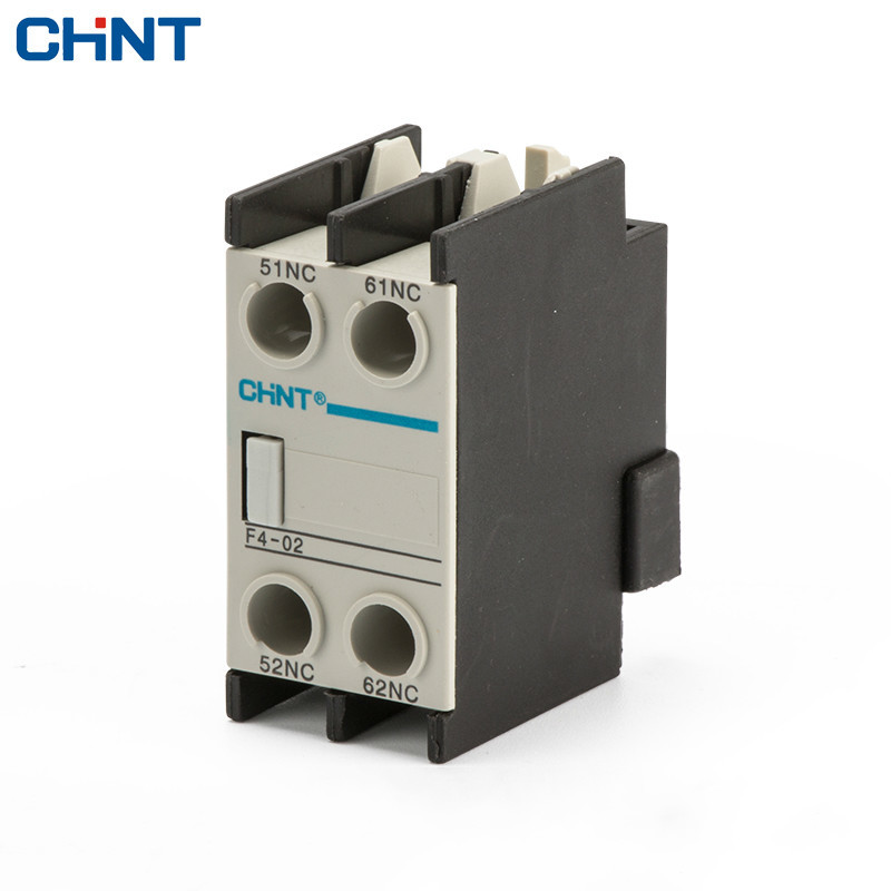 CHINT AC Contactor Auxiliary Touch Head F4-02 Match CJX2 CJX4 LC1 Use chint ac contactor 95a cjx2 9511 lc1 cjx4 220v 380v 95 security