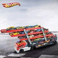 HOT WHEELS Schwere Lkw Transport Fahrzeuge CKC09 Modell Rennwagen Alloy Diecast Car Track Pädagogisches Spielzeug Für Jungen Kinder Hobby