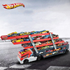 HOT WHEELS Heavy Truck Transport Vehicles CKC09 Model Race Cars Alloy Diecast Car Track Educational Toy For Boys Kids Hobby
