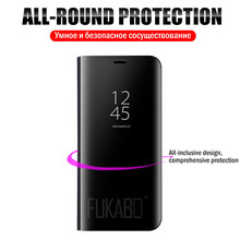 Smart Mirror Phone Case For Apple iPhone XS X 7 Plus 8 6S 6 Plus Protective case For iPhone X XS 7 8 6s 6 support Flip cover
