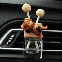 car air outlet Car Air Freshener Puppy In the Car Air Conditioning Outlet Perfume Clip Aromather Fragrance Diffuser Auto Accessorie Car Perfume (1)