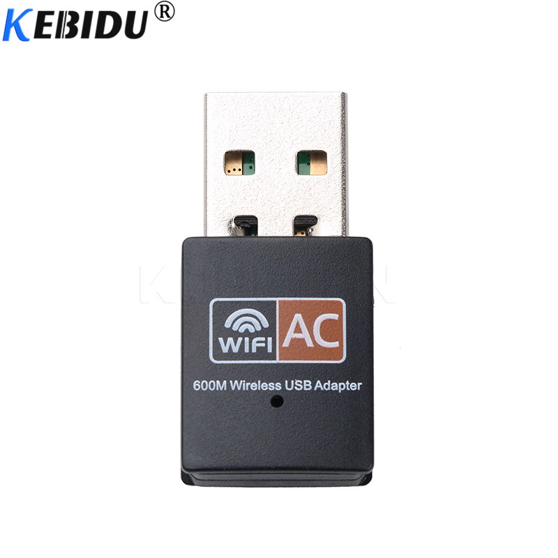 Tebatu Free Driver Wireless 600Mbps USB WiFi Adapter Card Dual Band 5GHz //2.4GHz for RTL8811 WiFi LAN Adapter Wireless Receiver