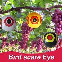 Птица пугающий воздушный шар Декор охотничьи дворы латексные садовые урожаи из дерева пухло реалистичные вредители на открытом воздухе