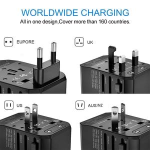 Image 3 - Rdxone Plug Adaptor travel adapter Universal Power Adapter Charger for US UK EU AU wall Electric Plugs Sockets Converter