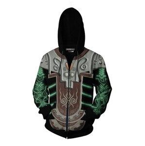 Image 5 - Cosplaydiy Game The Legend of Zelda Cosplay Zipper Hoodies Jacket The Legend of Zelda Midna Casual Hoodies Top Coat L320