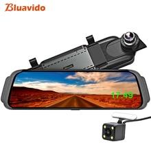 Bluavido 10 «4 г зеркало автомобиля видео камера gps Android ADAS навигации Full HD 1080 P зеркало заднего вида регистраторы Wi Fi BT DVR