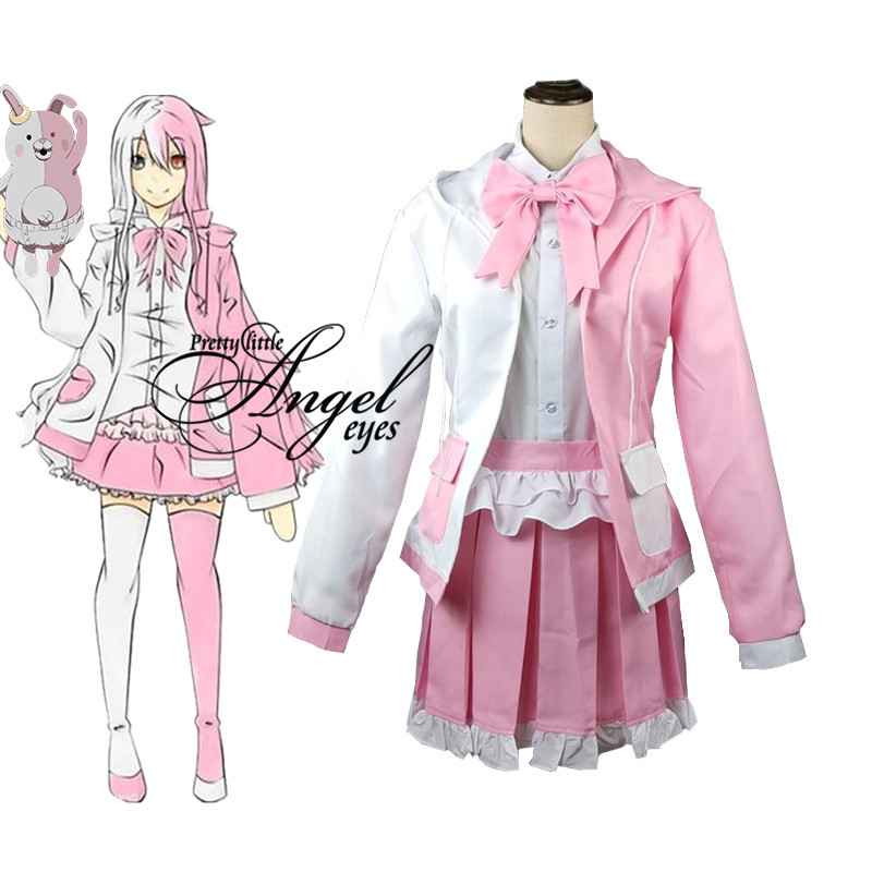 Anime Danganronpa Monomi  Cosplay Uniform Suit Costume Cosplay Halloween Party Costumes Full Set