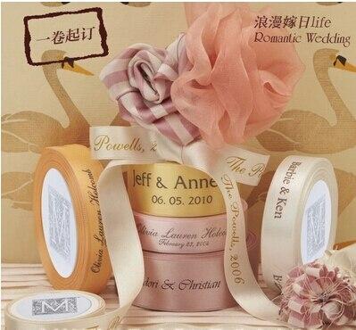 005 Custom Printed  Satin Lace Ribbon, Grosgrain 100 Yard /lot  Free Shipping By China Post